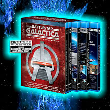 BATTLESTAR GALACTICA DEFINITIVE COLLECTION 18 DISCS BLU-RAY L@@K
