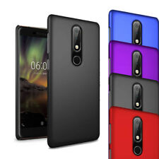 """For Nokia 6 2018 6.1 5.5"""" Case - Slim Hard Shell Case Thin Hybrid Cover & Screen"""