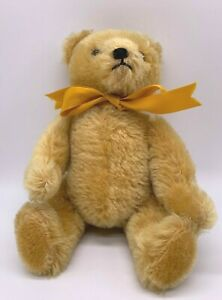 Collectable Vintage Hermann Teddy Original Bear Jointed Wool/Cotton (JS127T) GA
