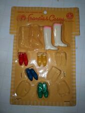 New ListingVintage 1966 Francie & Casey Shoes Boots Mod Teen Fashions Original