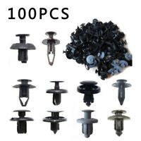 100Tlg Auto Clip di Fissaggio Rivetti Assortimento Box Plastica Clip Set Kit