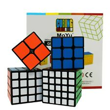 SET CUBO DI RUBIK 2x2x2 - 3x3x3 - 4x4x4 - 5x5x5 Rompicapo Professionale