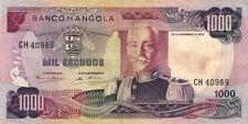 BILLET BANQUE ANGOLA 1000 escudos 1972 état voir scan 969