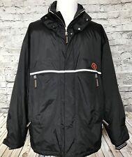 Bogner Mens Gore-Tex Black Ski Snowboard Jacket Size 46 XXL Comfort Max