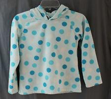 Old Navy, Medium, Girls, Light Blue Polka Dot Pullover Fleece Hoodie