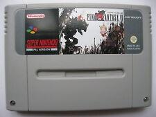 Final Fantasy VI 6 for Super Nintendo SNES PAL English