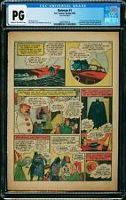 BATMAN #1 CGC NG ( PG single page ) First Joker & Catwoman 1940 Grail Page 21