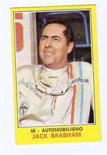 figurina PANINI CAMPIONI DELLO SPORT 1970-71 N. 58 AUTOMOBILISMO BRAHAM