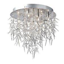 Plafonnier Chambre à coucher lumière Couloir Lampe avec pampilles HORNY Sompex