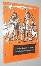 WEIHNACHTSHEFT 1960 der Evangelischen Verlagsanstalt Berlin DDR Weihnachten Lese