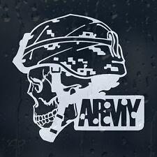 Army Military Skull Car Decal Vinyl Sticker For Bumper Or Window Or Panel