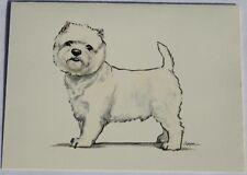 West Highland Terrier Westie Dog Zeppa Studios Fur Children Note Cards Set of 8