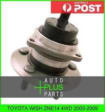 Fits TOYOTA WISH ZNE14 4WD Rear Wheel Bearing Hub