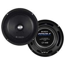 "Orion Cobalt Series Ct-M6 6.5"" 600W Max High Efficiency 4-Ohm Midrange Speakers"