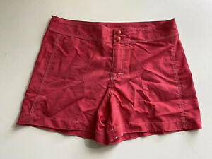 Ll Bean Shorts Womens Size 8 Pink Light Weight Hiking Nylon Blend