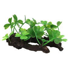 New Artificial Plastic Plants Grass Water Ornaments for Aquarium Fish Tank A4Q8
