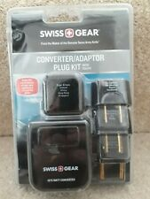 SWISS GEAR CONVERTER ADAPTOR PLUG KIT WITH POUCH