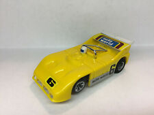 AFX AURORA PORSCHE 510K Unreal color solid Yellow  Model Motoring TOMY TYCO-LooK