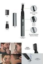 Nose Ear Trimmer Neck Hair Eyebrow Groomer Clippers Micro Personal Shaver Heads