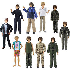 Lot 5 PCS Fashion Outfits/Clothes For 12 inch Ken Doll
