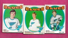 1971-72 OPC STLOUIS BLUES  CARD LOT  (INV# C2552)