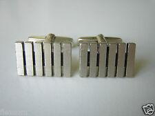 Massive 925 FS Silber Manschettenknöpfe Manschetten 15 g / Kopfmaß: 1,9 x 1,2 cm
