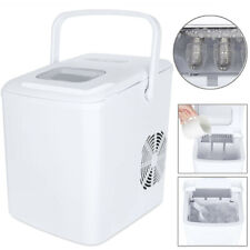 Portable Ice Maker Machine Countertop 26Lbs/24H Self-cleaning w/ Scoop White