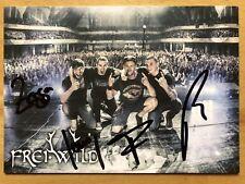 Frei Wild AK Live in Frankfurt Autogrammkarte original signiert