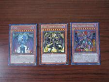 3 YuGiOh Card Lot - Yubel Terror Incarnate The Ultimate Nightmare