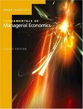 Fundamentals of Managerial Economics (with Economi