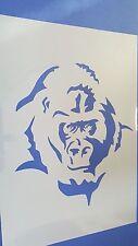 Schablonen 309 Gorilla Mylarfolie Shabby Möbel Wandtattoos Wandbilder Airbrush