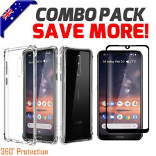 For Nokia 2.2 2.3 3.2 4.2 Clear Anit Knock Heavy Duty Shockproof Case Cover