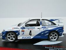 FORD ESCORT RS COSWORTH #4, D Alonso, 93 ASTURIAS RALLY SPAIN, 1:43 Scale ALTAYA