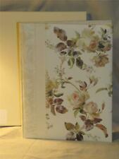New Gibson Anna Griffin Ivory Rose WEDDING Memory Book / Guest / Gift Registry