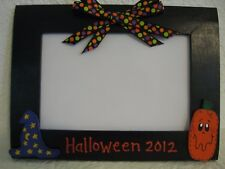 Happy Halloween Frame 2017 4x6 Halloween frame family photo picture frame