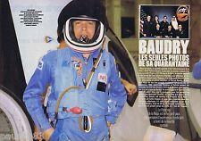 COUPURE DE PRESSE CLIPPING 1985 PATRICK BAUDRY  (4 pages)