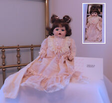 Marie Osmond Baby Renee Toddler Porcelain Doll Coa Nib Limited Ed