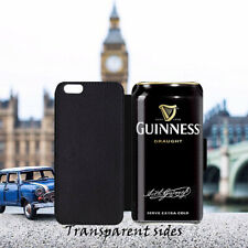 Guinness Can Irish Beer Leather Flip Wallet Phone Case