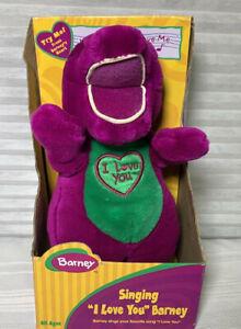 Barney the Dinosaur Singing Doll