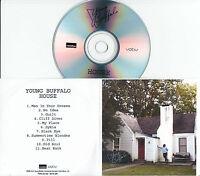 YOUNG BUFFALO House 2015 UK 11-trk promo test CD