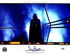 DAVE PROWSE Signed Darth Vader STAR WARS 11x14 OfficialPix Photo PSA/DNA #V50146
