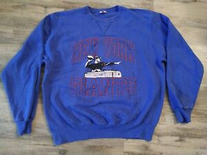 Champion New York Giants Vintage NFL Spell out logo Sweatshirt Fits like a Large