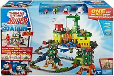 Thomas & Friends Super Station Railway Train Track Set