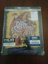 The Dark Crystal 4K Best Buy Exclusive Steelbook New - Factory Sealed