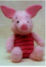 Disney Piglet toy knitting pattern