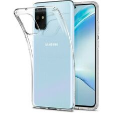 Coque compatible Samsung S20 Plus Liquid Crystal transparente