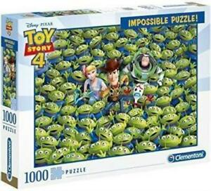 Clementoni Puzzle Disney Toy Story 4 Impossible Puzzle 1000 pieces Jigsaw Puzzl