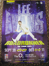 LEE EVANS ROADRUNNER TOUR 2011 LONDON A4 POSTER