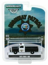 1975 Ford F-100 POLICE Truck California Highway Patrol CHP * Greenlight 1:64 OVP