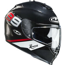 HJC IS-17 Lorenzo Black Helmet adults Medium
